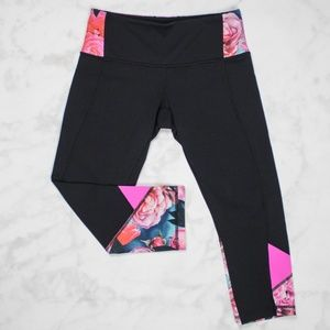 Lululemon Secret Garden Embody Crop